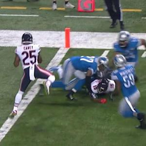 Chicago Bears forward-lateral in final seconds