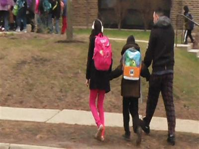 Raw: In Milwaukee, Stress About School Safety