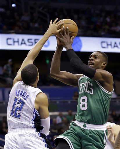 Celtics lock up East's 7th seed, rout Magic 120-88