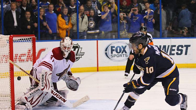 Phoenix Coyotes v St. Louis Blues