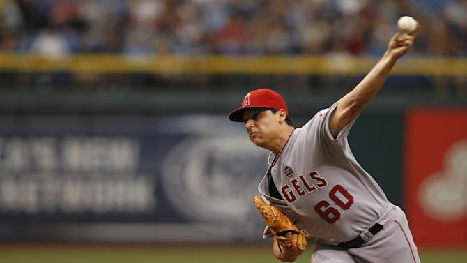 Vargas goes 7 innings, Angels beat Rays 2-0