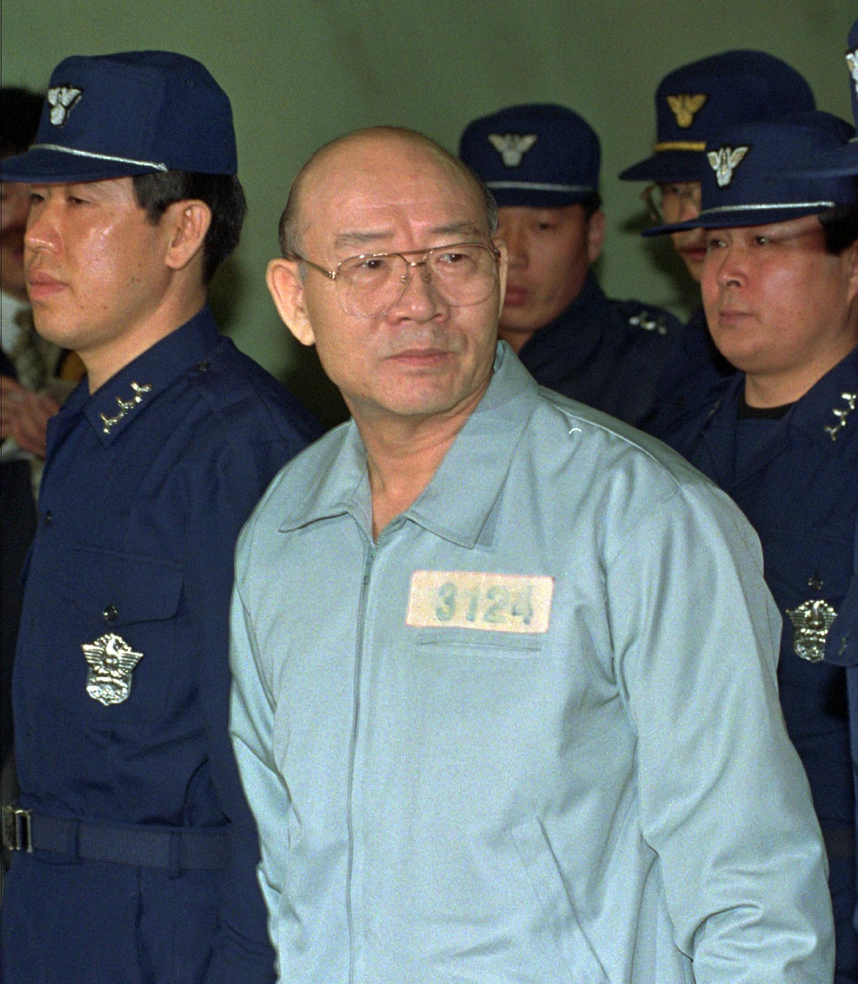 Former South Korean dictator's family forfeits $1.2M to US