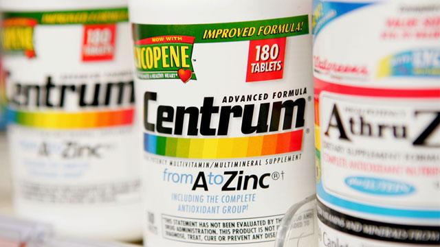 Pfizer Pulls Breast, Colon Health Claims From Centrum Labels