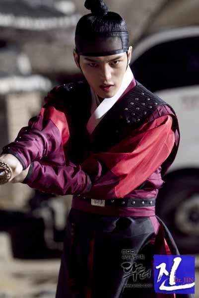 BTS Photos of Kim Jae Joong on 'Time Slip Dr. Jin' Set