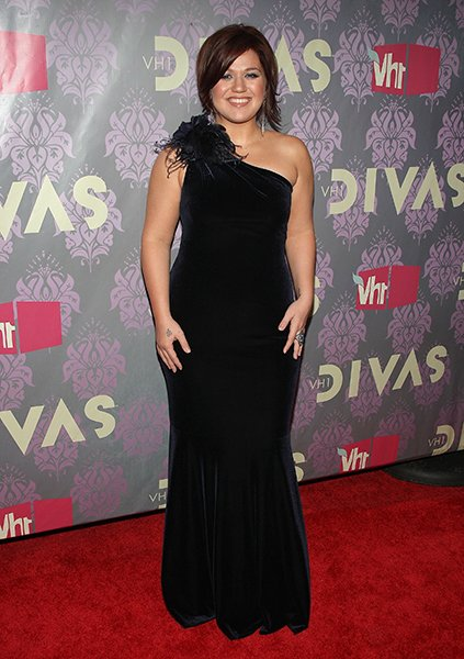 Kelly at the 2009 VH1 Divas