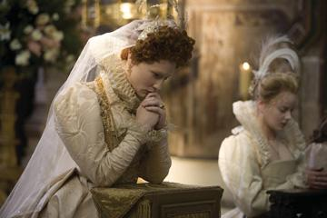 Cate Blanchett and Abbie Cornish in Universal Pictures' Elizabeth: The Golden Age