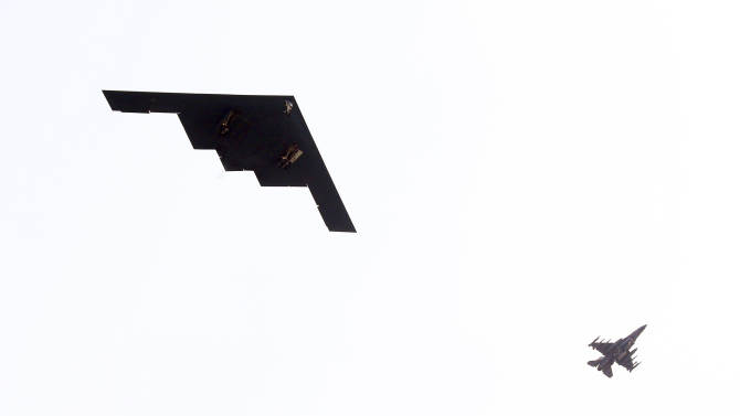 US sends B-2s to South Korea for military drills