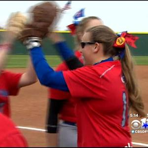 Softball Team Plays For First Time Since Fatal Crash