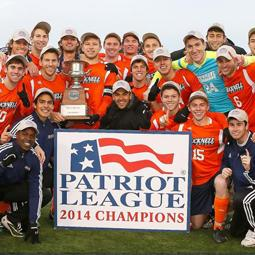 Bucknell men's soccer wins 2014 Patriot League Championship