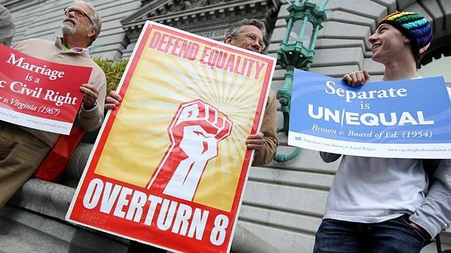Prop 8: Hear Today's Arguments Before the Supreme Court (Audio)