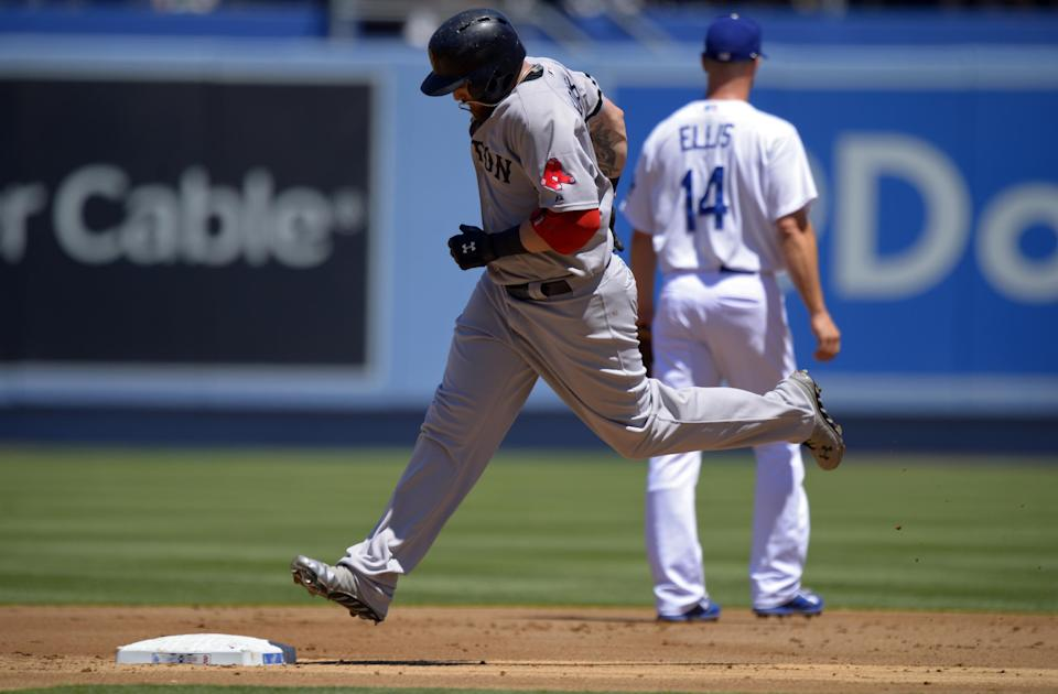 Red Sox beat Dodgers 4-2 to end LA win streak