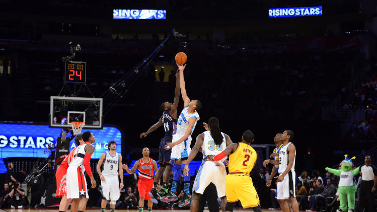 NBA: All Star Game-Rising Stars Challenge