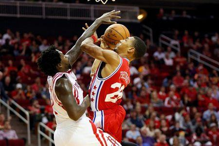 NBA: Philadelphia 76ers at Houston Rockets