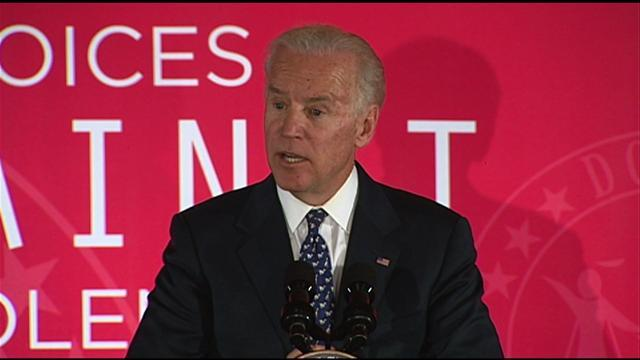 "Biden: Abused women fear getting ""raped again by the system"""