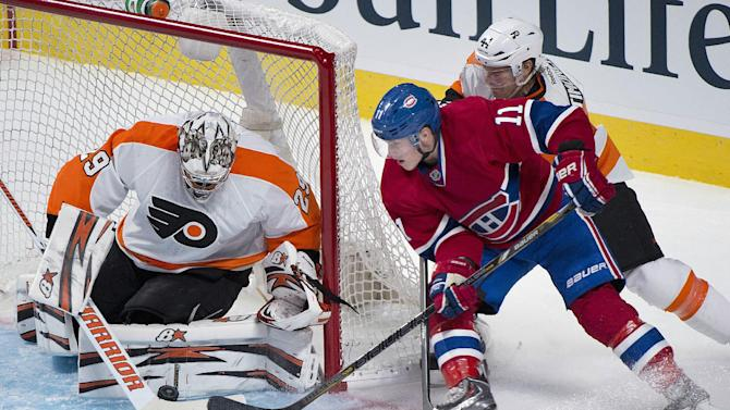 Lars Eller scores, Canadiens beat Flyers 4-1