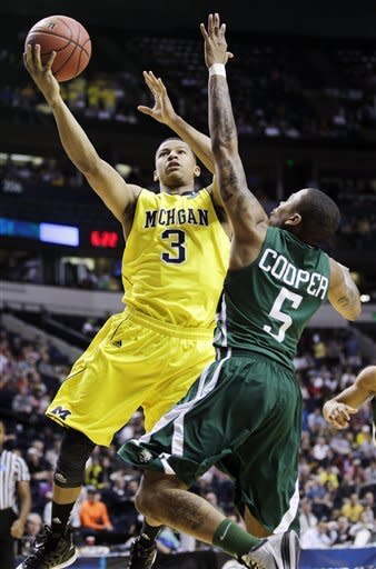 Ohio upsets Michigan 65-60 in NCAA tourney