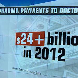 Federal database lists financial ties between medical providers and drug companies