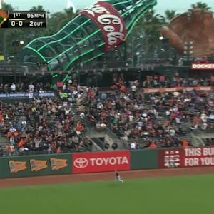 Posey's two-run shot