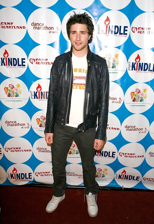 Matt Dallas poses on the red carpet at the 7th annual UCLA Dance Marathon for the Elizabeth Glaser Pediatric AIDS Foundation, Camp Heartland and Camp Kindle, held at the Ackerman Grand Ballroom on the