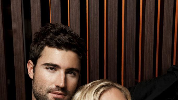 "Brody Jenner and Kristen Cavallari in the ""The Hills"""