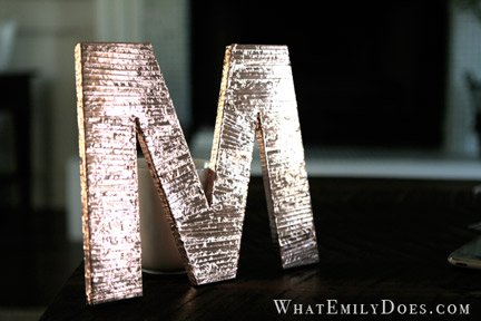 Copper Monogram
