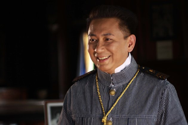 "Laguna Governor E.R. Ejercito plays President Emilio Aguinaldo in the biopic ""El Presidente"""