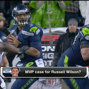 MVP case for Seattle Seahawks quarterback Russell Wilson