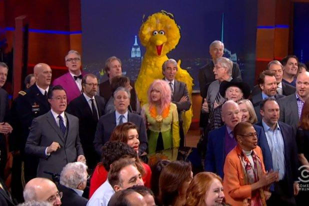 Stephen Colbert Flies the Coop, Promising 'We'll Meet Again'