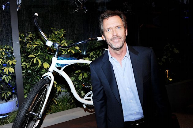 "Hugh Laurie of ""House"" celebrates at the 2010 Fox Fall Eco-Casino party on September 13, 2010, at Boa in West Hollywood."