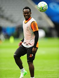 Real Madrid have signed Michael Essien on a season-long loan