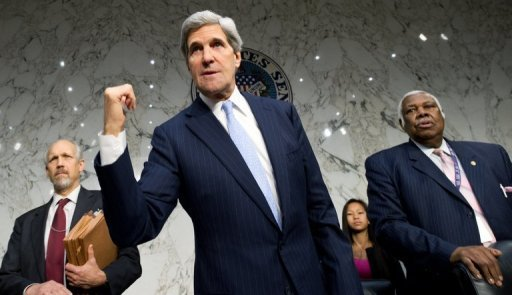 US President Barack Obama will nominate Senator John Kerry (pictured), a veteran foreign policy hand and former presidential candidate, as his next secretary of state on Friday, a US official told AFP.