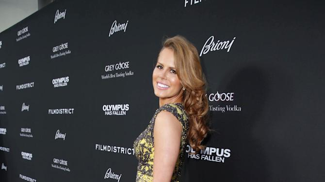 Michelle Celeste at FilmDistrict's Premiere of 'Olympus Has Fallen' hosted by Brioni and Grey Goose at the ArcLight Hollywood, on Monday, March, 18, 2013 in Los Angeles. (Photo by Eric Charbonneau/Invision for FilmDistrict/AP Images)