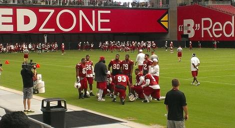 Arizona Cardinals Training Camp 2013: Highlights, Lowlights from Day 1