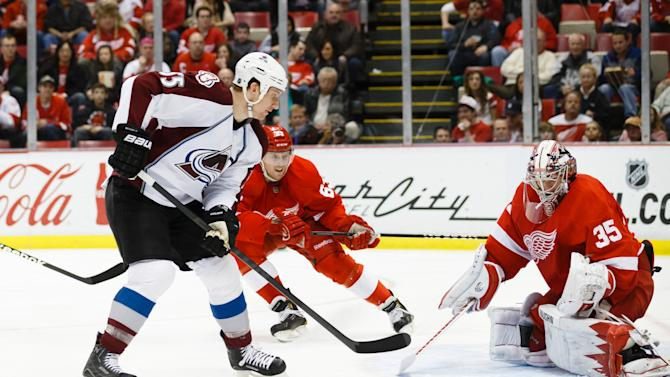 NHL: Colorado Avalanche at Detroit Red Wings