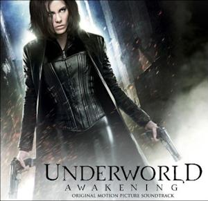 "Album cover for ""Underworld Awakening: Original Motion Picture Soundtrack."""