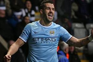 Alvaro Negredo: Manchester City has not given up on title