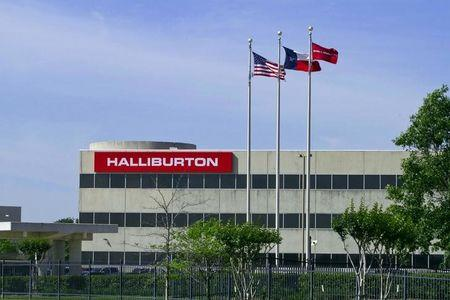 Halliburton posts first operating profit in North America in a year