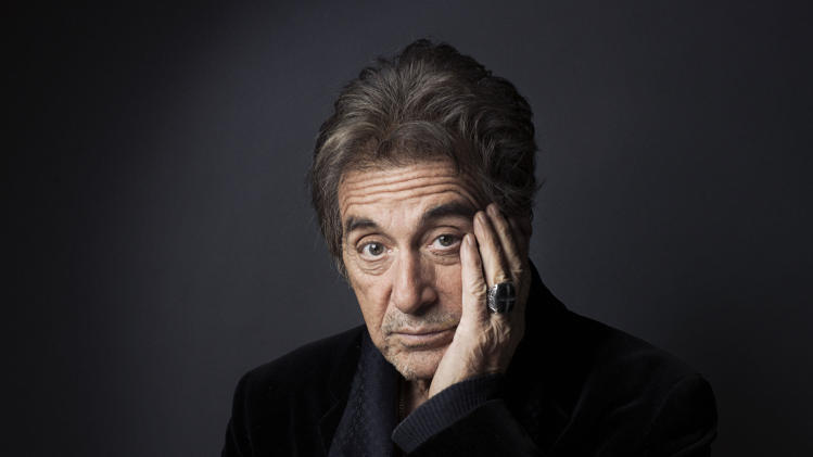 """This Dec. 7, 2012 photo shows Al Pacino in New York. Pacino stars in the new film, """"Stand Up Guys.""""  (Photo by Victoria Will/Invision/AP)"""