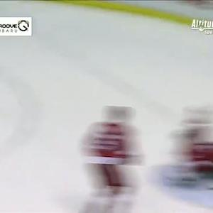 Andre Benoit sneaks in to blast OT winner