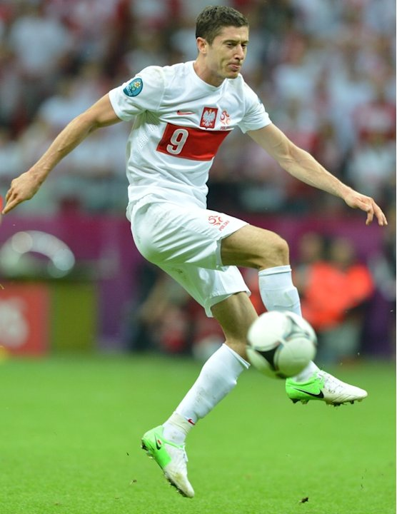 Polish Forward Robert Lewandowski …