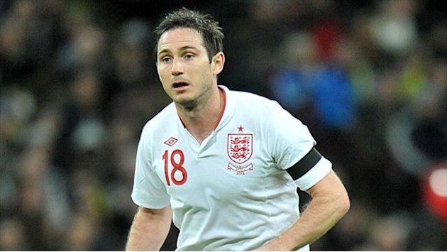 Football - Lampard loving England duty