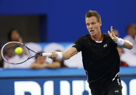 Berdych to be coached by Murray's former hitting partner