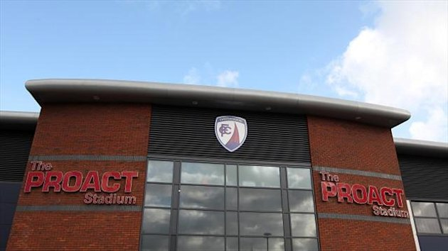 Proact stadium, home of Chesterfield (PA)
