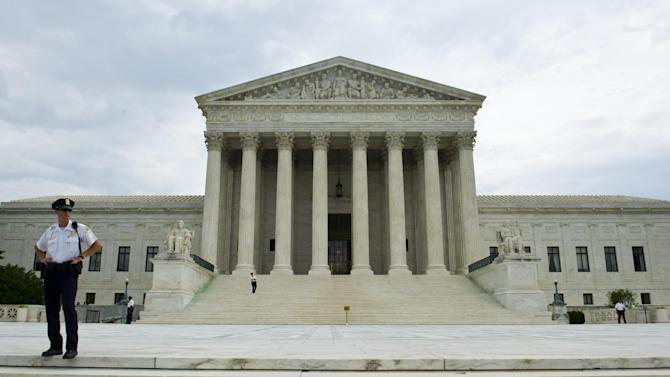 The US Supreme Court in Washington, DC on June 19, 2014
