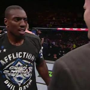 UFC 179: Phil Davis Octagon Interview