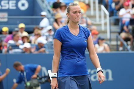 Tennis: U.S. Open-Kvitova vs Krunic