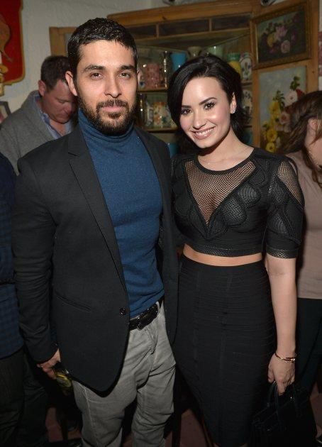 Demi Lovato Threw Wilmer A Surprise Party!