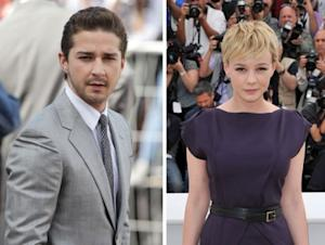Shia LaBeouf and Carey Mulligan -- Getty Images