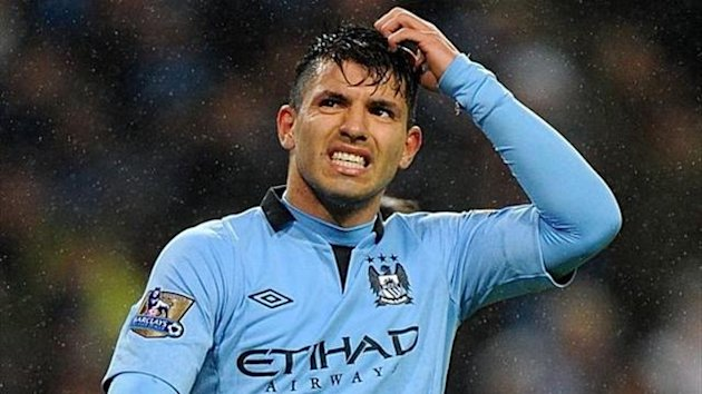 Sergio Agüero of Manchester City