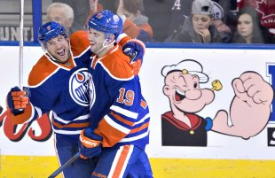 The Oilers, who haven't had much to smile about this season, need more spinach down the middle. (AP)